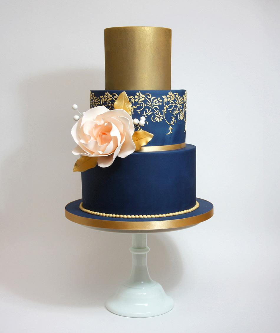 Navy Cake Decorations